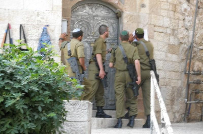 Israeli Soldier Scavenger Hunt