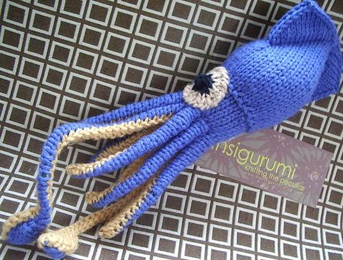 Squid-a-licious by hansigurumi.