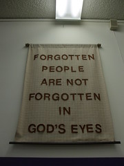 Banner from the Mennoite Center Thrift Store
