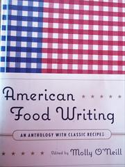 American Food Writing