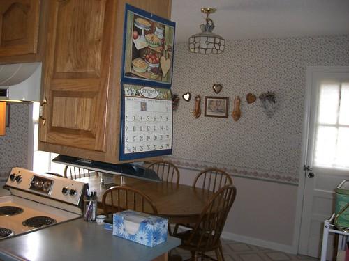 Dining area from doorway