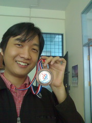 Me & IOI 2007 Bronze Medal