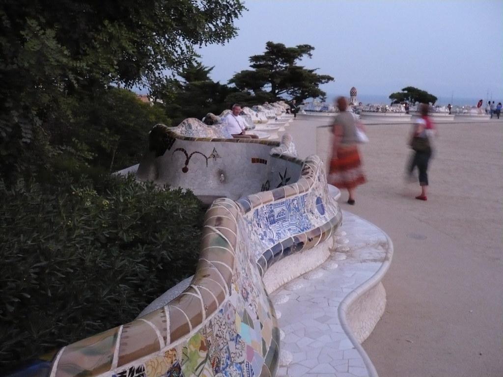 el Park Güell.. otra locura