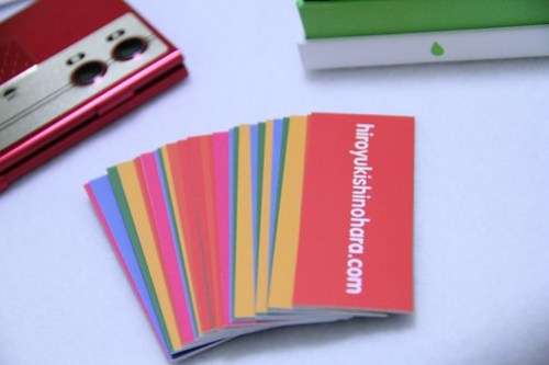 Colorful Cards