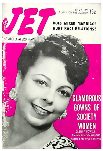 Does Mixed Marriage Hurt Race Relations?  Jet Magazine, July 3, 1952 by vieilles_annonces.