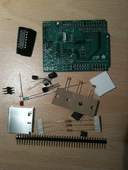 GPS and SD Card Logger Kit