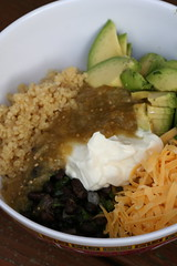 Quinoa-Black Bean Bowl
