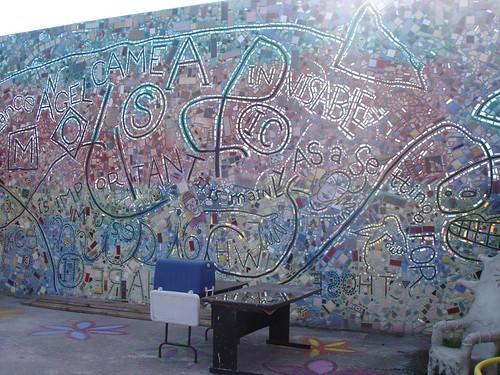 Mural at IMA