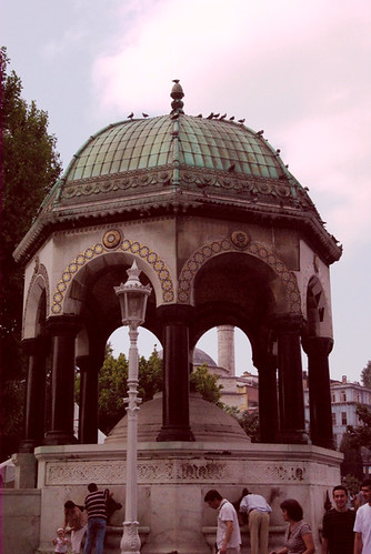 German Fountain, Sultanahmet square, Istanbul, Sultanahmet meydanı, Alman çeşmesi, pentax k10d