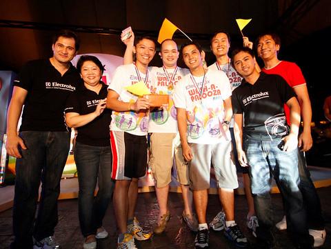 Electrolux Wash-a-Palooza Winners / Champions
