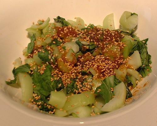 Warm Shanghai Bok Choy Salade