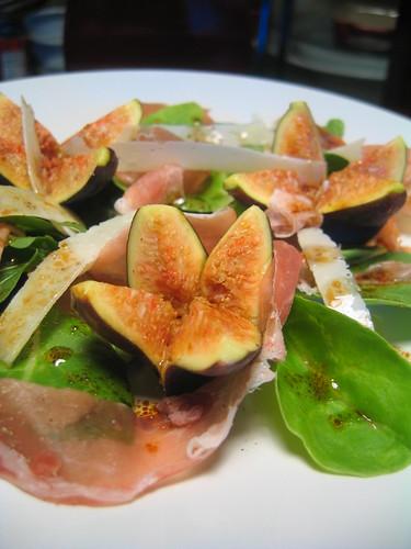 prosciutto, fig & parmesan salad 1