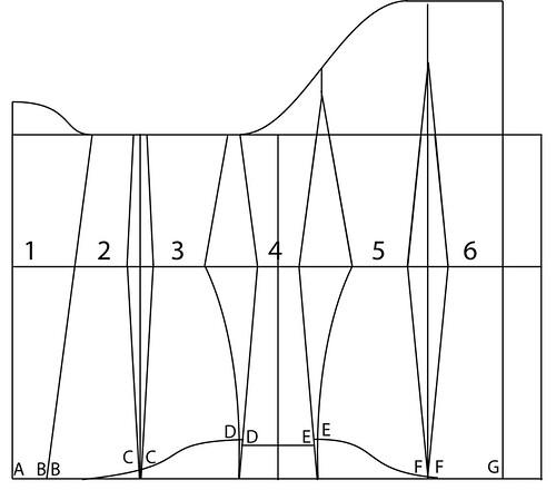 Underbust corset pattern - 35