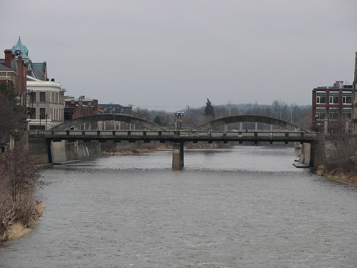Cambridge, Ontario - Main Street Bridge over Grand River