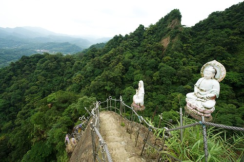 Religious Statues on Hiking Trail