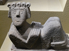 Tarascan Stone Sculpture from the Lake Patzcua...