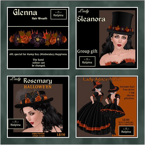Hatpins - HDH Group Gift and Halloween