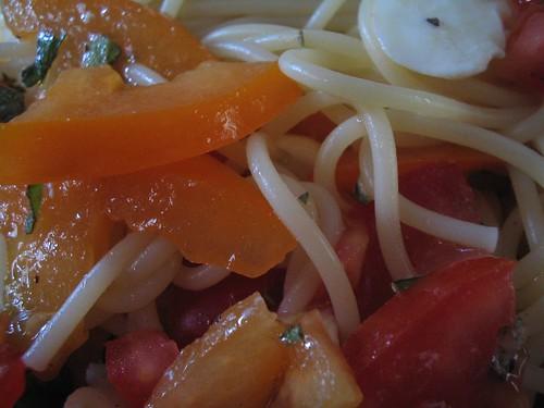 nyers paradicsomos spagetti 4