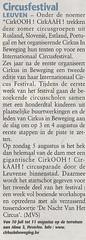 De Zondag | 29 juli 2007