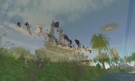 Second Life - Education : Conférence Espace et Mouvement par WishYou Welles