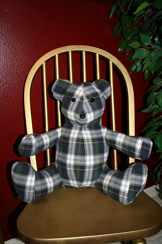 Plaid Bear by you.