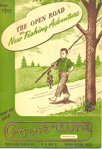 Happy Boy Vintage Fishing Catalog by UpNorth Memories - Donald (Don) Harrison.