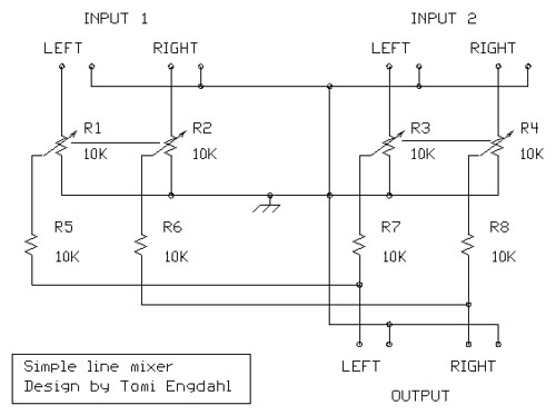 4 Pin Xlr Microphone Wiring Diagram Audio Schematics Mixer Circuits Electronics Tutorials
