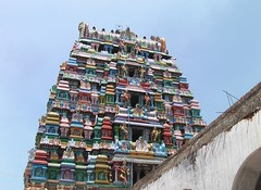 Rajagopuram view from outside