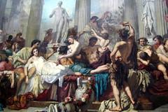 Paris - Musée d'Orsay: Thomas Couture's Romain...