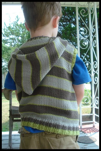 Wonderful Wallaby Vest - back