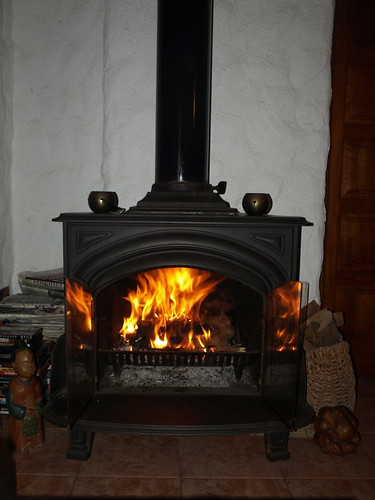 The first fire of the year