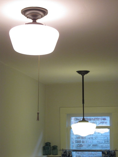 kitchen light fixtures flush mount drop in sink a fixture with no switch | bungalow bungahigh