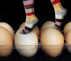 Walking on Eggshells....