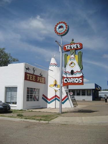 Tee Pee Curios in Tucumcari