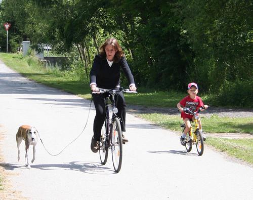 Radfahren mit Joey