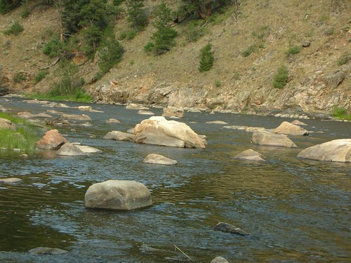 Platte River Boulder Field