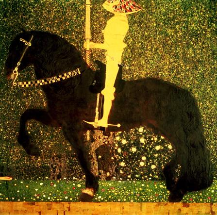 Gustav Klimt - The Golden Knight
