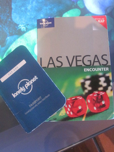Lonely Planet passport and guide