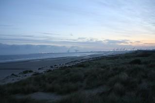 Zeebrugge vanaf Blankenberge
