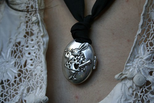 The White Rabbit broach