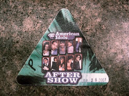 After Show pass