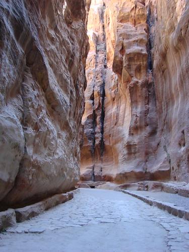 Approaching Petra