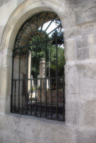 gravestones, mosques garden, Istanbul, pentax k10d