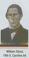Sgt. William D. Stone, 19th South Carolina