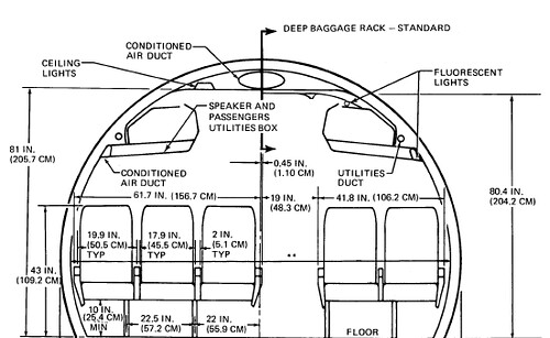 737 Fuselage Cross Section Pictures to Pin on Pinterest