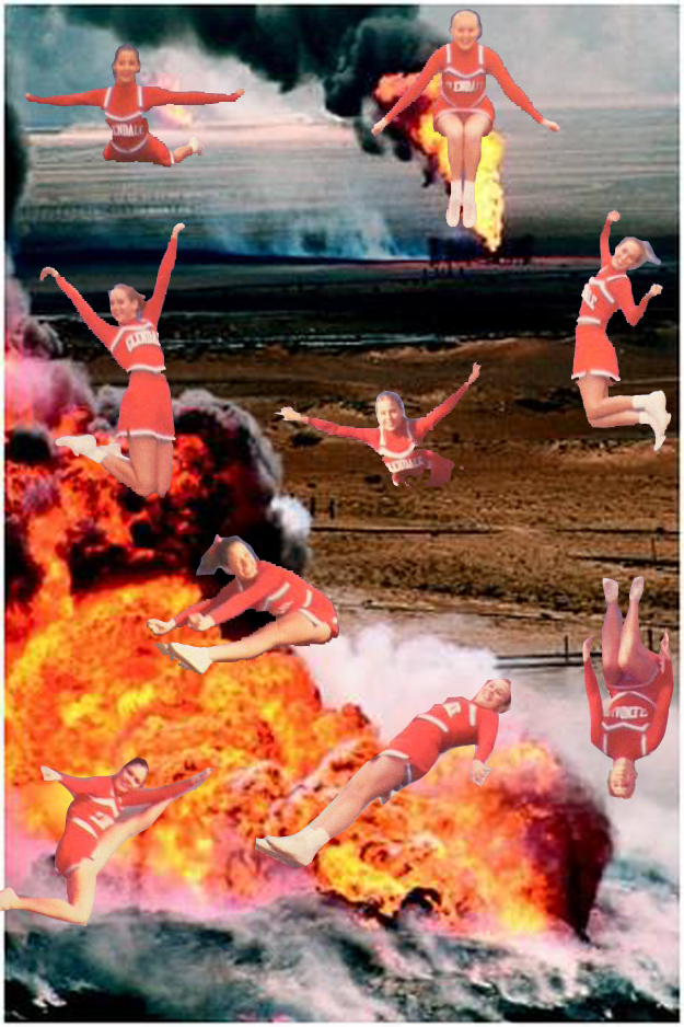 cheerleader desert storm