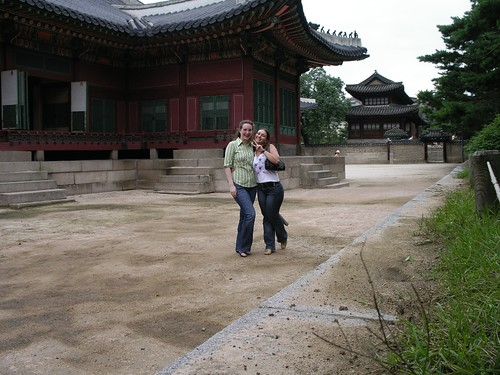With Tsvety at Deoksugung