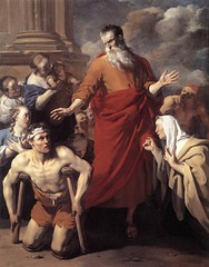 Apostle Peter healing in the Name of JESUS
