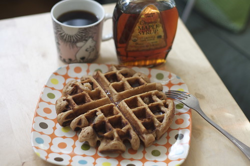 malted waffles!
