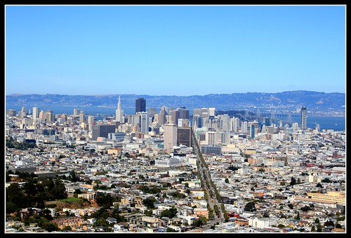 A View of San Francisco from Twin Peaks